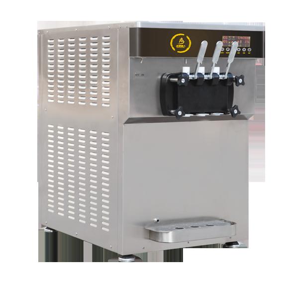 BXR-1238PY台式双缸软冰淇淋机