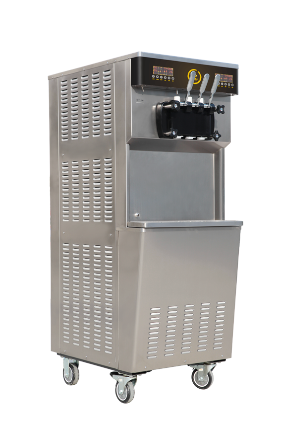 BXR-2258PY立式双缸软冰淇淋机
