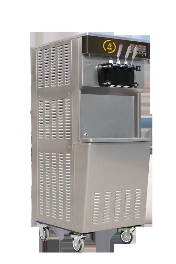BXR-2238PY立式双缸软冰淇淋机