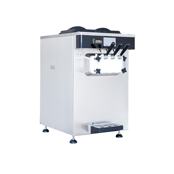 C173台式三头商用巴氏杀菌软冰淇淋机