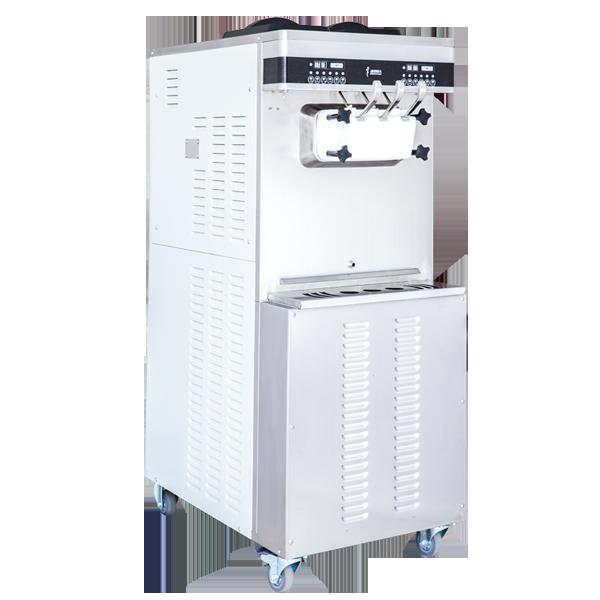 C176台式三头商用巴氏杀菌软冰淇淋机